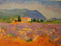 Hus på landet fransk impressionisme