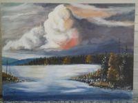 Vinter lake